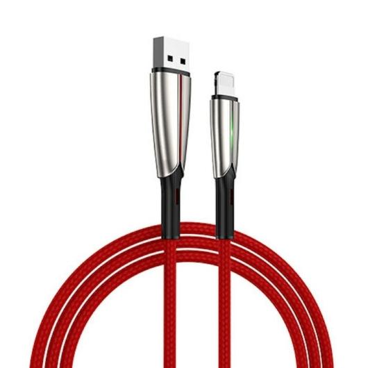 Joyroom S-M399 3A Micro USB 1.5M Adatkábel - Piros - Quick Charge/Gyorstöltés