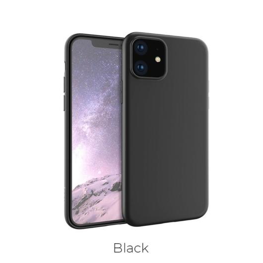 Apple iPhone 11 HOCO Fascination TPU - Fekete