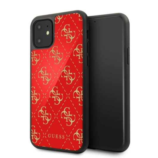 Apple iPhone 11 GUESS GUHCN614GGPRE Hátlap - Piros