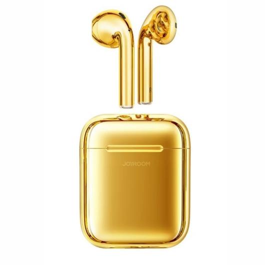 Joyroom JR-T03S TWS Bluetooth 5.0 Headset - Arany - Bluetooth Fülhallgató