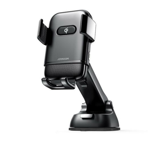 JOYROOM JR-ZS216 Triaxial Dashboard 15W Wireless Autós Töltő és Tartó - Fekete - Induktív Töltés