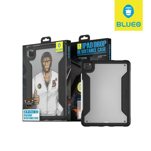 Apple iPad 12.9'' Blueo Military Hátlap - Fekete - Defender/Ütésálló