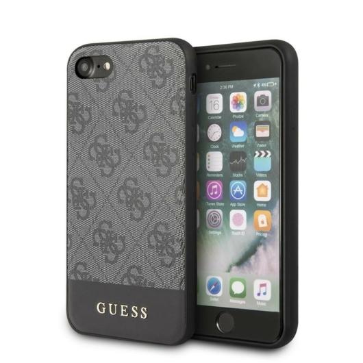 Apple iPhone 7/8/SE2 GUESS GUHCI8G4GLGR Hátlap - Szürke