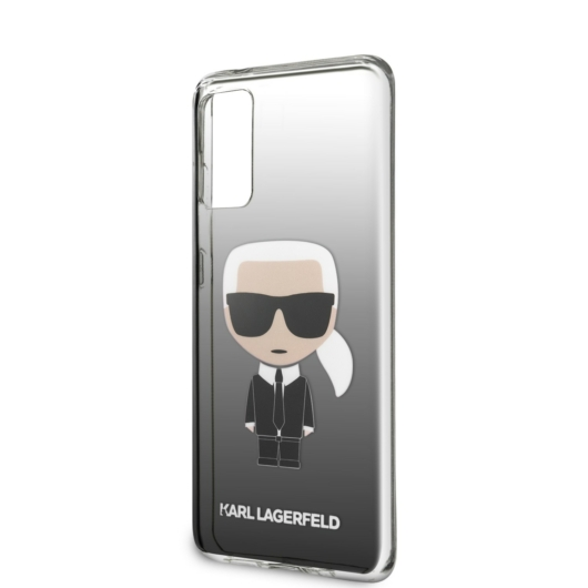 Samsung S20 KARL LAGERFELD KLHCS62TRDFKBK TPU Hátlap - Fekete