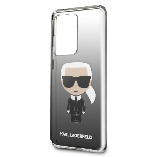 Samsung S20 Ultra KARL LAGERFELD KLHCS69TRDFKBK TPU Hátlap - Fekete