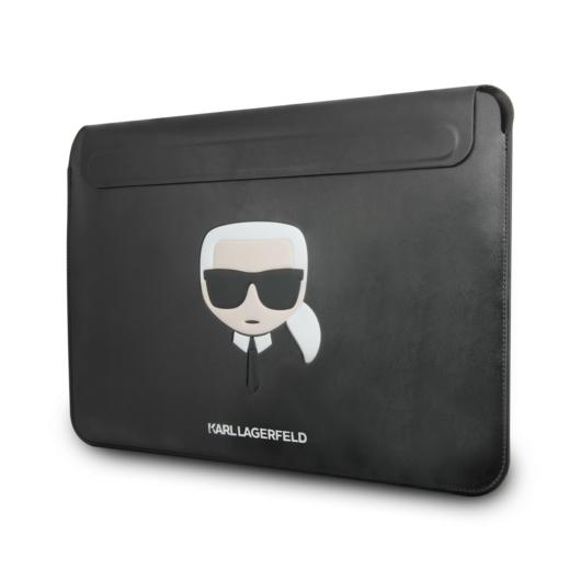 KARL LAGERFELD KLCS133KHBK 13'' Notebook/Tablet Táska - Fekete