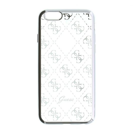 Apple iPhone 5/5S/SE GUESS GUHCPSETR4GSI Hátlap - Ezüst