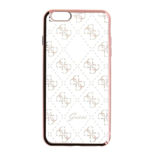 Apple iPhone 5/5S/SE GUESS GUHCPSETR4GRG Hátlap - Rose Gold