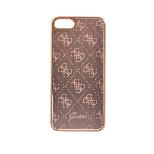 Apple iPhone 5/5S/SE GUESS GUHCPSEMEGO Hátlap - Rose Gold