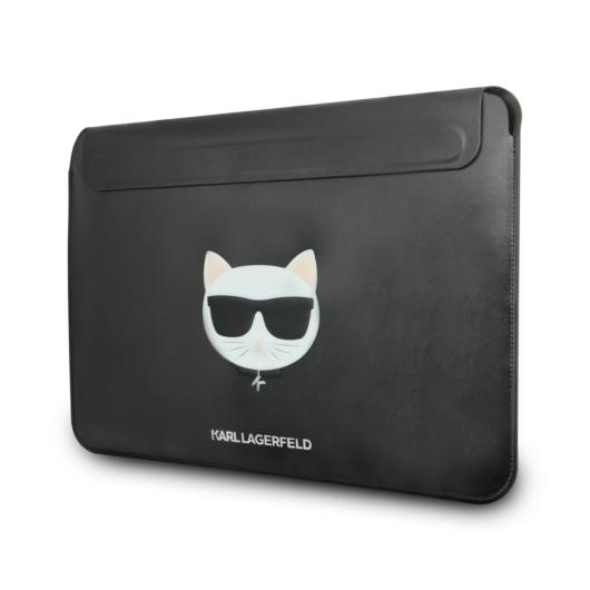 KARL LAGERFELD KLCS133CHBK 13'' Notebook/Tablet Táska - Fekete