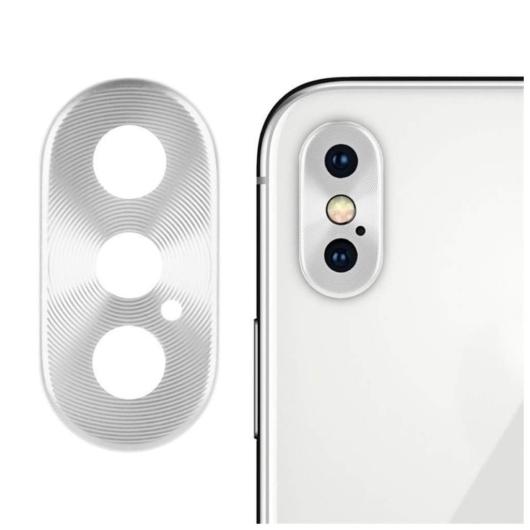 Kamera védő ezüst. Apple Iphone 11