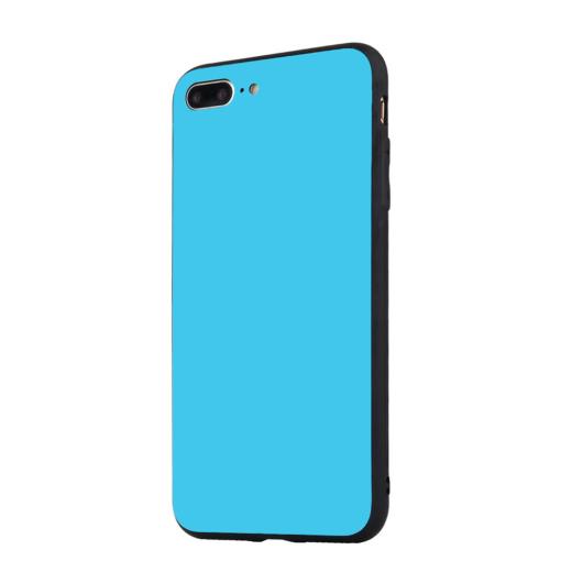 Tempered Glass tok kék Apple Iphone 7Plus/8Plus készülékhez