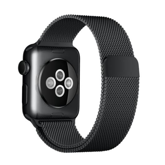 Apple Watch milánói szíj. 38/40mm. Fekete