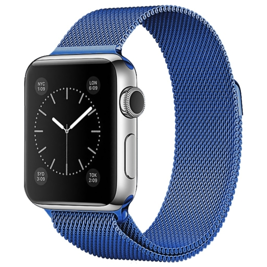 Apple Watch milánói szíj. 42/44mm. Kék