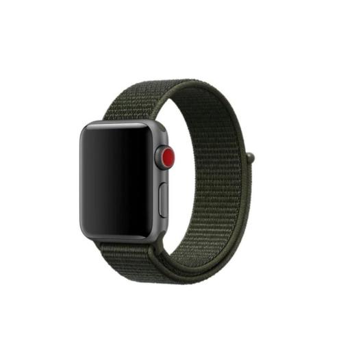 Apple Watch tépőzáras szíj Khaki 38/40mm