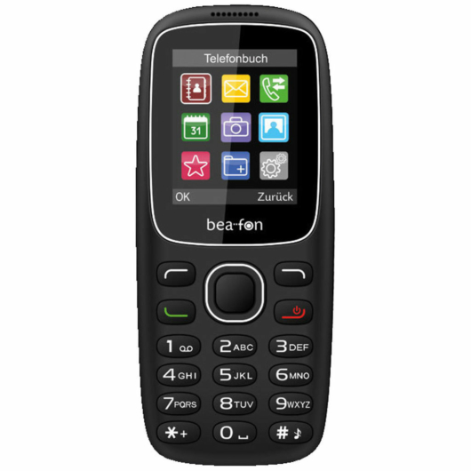 Beafon C65 Dual SIM 1.8″. fekete