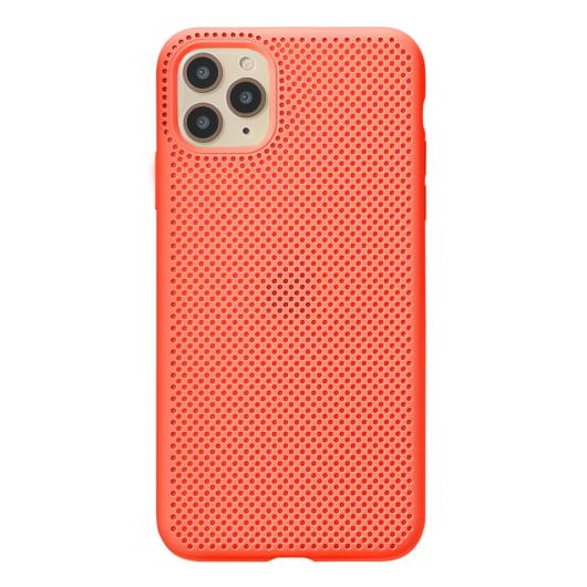 Breathing Silicone Case barack Apple Iphone 11 készülékhez
