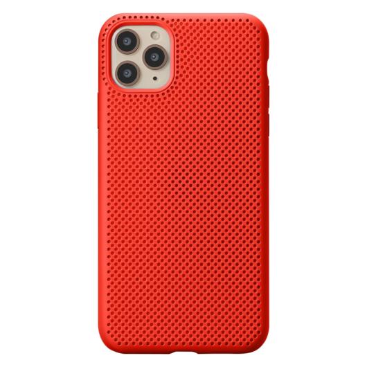 Breathing Silicone Case piros Apple Iphone 11 Pro készülékhez