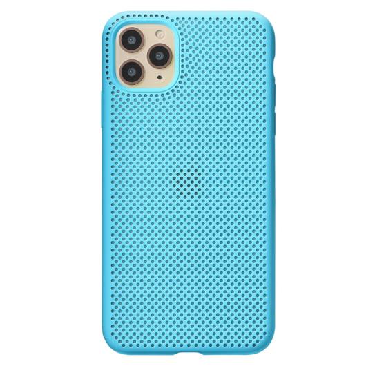 Breathing Silicone Case világoskék Apple Iphone Xr készülékhez