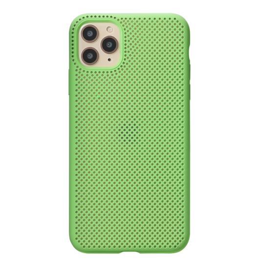 Breathing Silicone Case zöld Apple Iphone 11 készülékhez