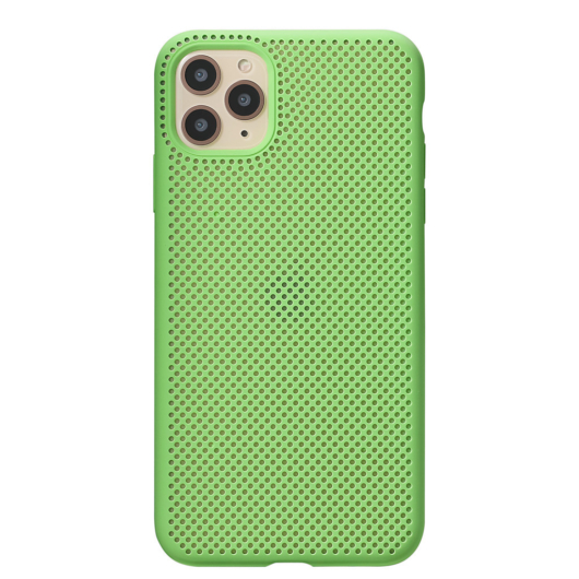 Breathing Silicone Case zöld Apple Iphone 7 Plus / 8 Plus készülékhez