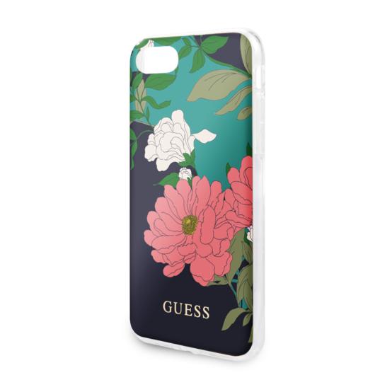 Guess tok Virágmintás (GUHCI8PCUTRFL01) Apple iPhone 7/8/SE (2020) készülékhez
