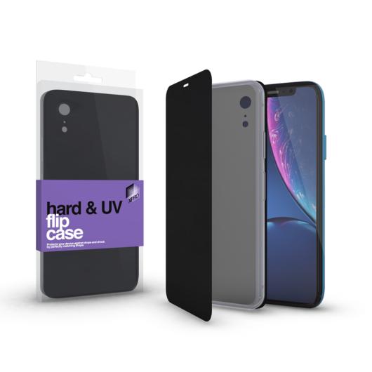 Hard Flip Case fekete  Iphone Xr készülékhez