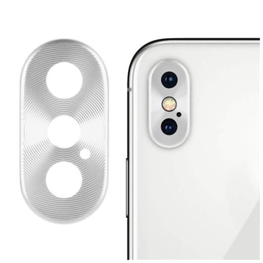 Kamera védő ezüst. Apple Iphone Xs