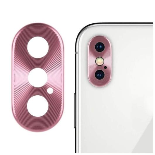Kamera védő rózsaszín. Apple Iphone X