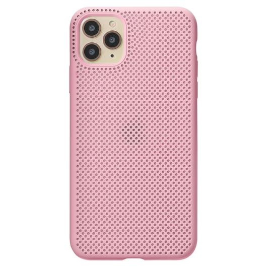 Breathing Silicone Case pink Apple Iphone 11 Xs Max készülékhez