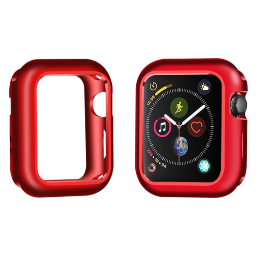 Mágneses keret piros Apple Watch 40mm készülékhez