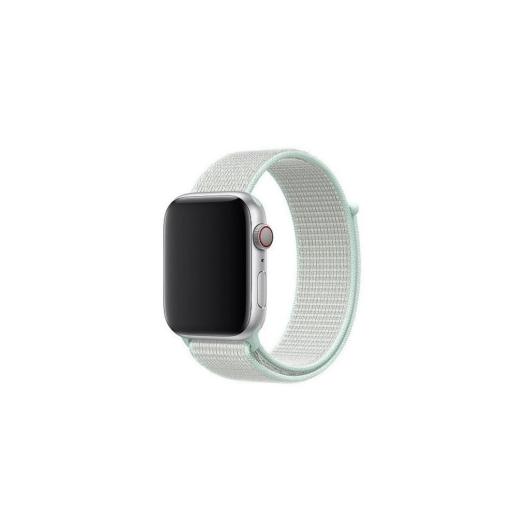 Apple Watch tépőzáras szíj Menta 42/44mm