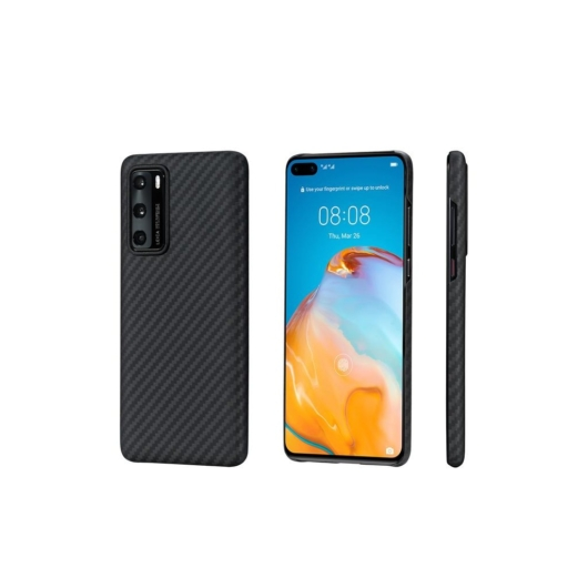 Pitaka tok Black/Grey Twill (KHP4001) Huawei P40 készülékhez