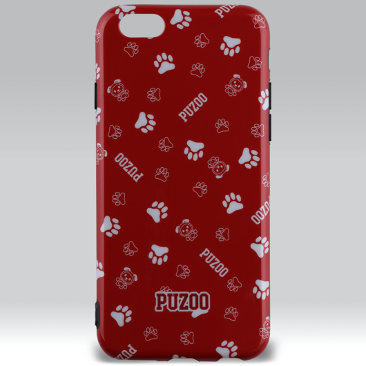 Puzoo mintás tpu tok dico red Apple iPhone 7/8/SE (2020)