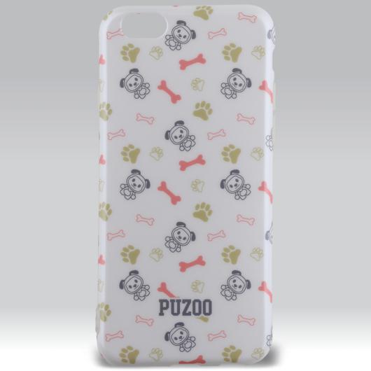 Puzoo mintás tpu tok dico white Apple iPhone 6 / 6S