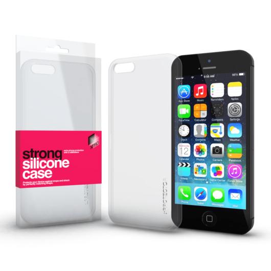 Strong Szilikon tok 2mm Apple iPhone 5 / 5S / SE (2016) készülékhez