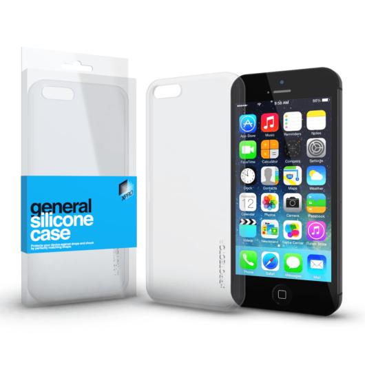Szilikon tok Case ultra vékony 0.33 mm Apple iPhone 5 / 5S / SE (2016) készülékhez