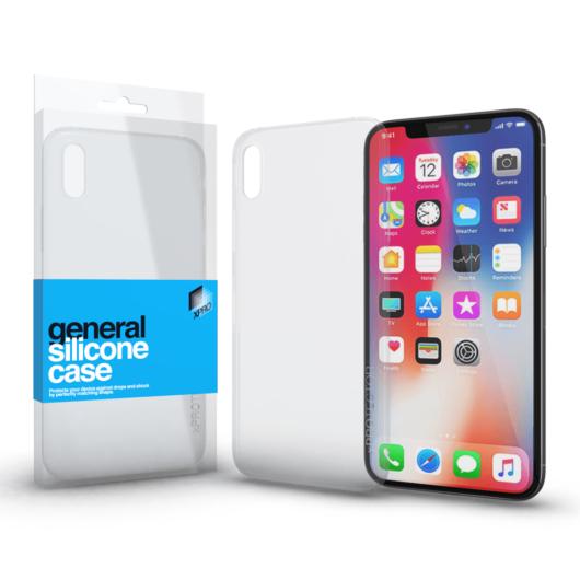 Szilikon tok Case ultra vékony 0.33 mm Apple iPhone X készülékhez