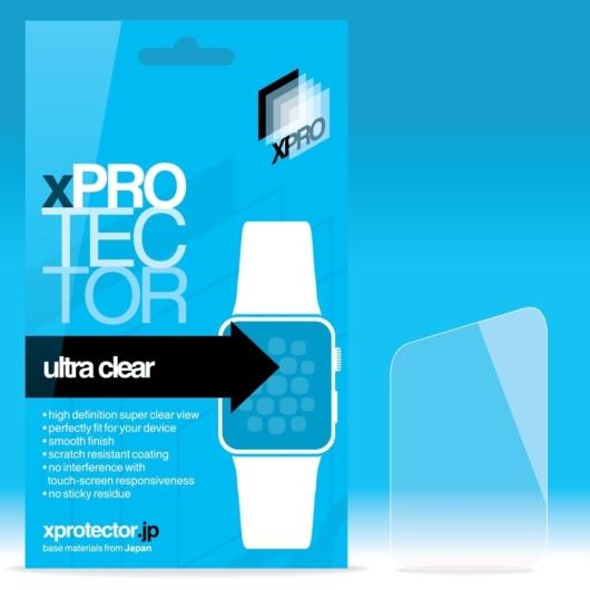 Tempered Glass 0.33 kijelzővédő Apple Watch 42mm készülékhez