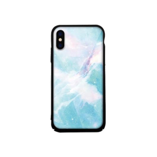 Tempered Glass tok kék (Achat) Apple Iphone Xs Max készülékhez