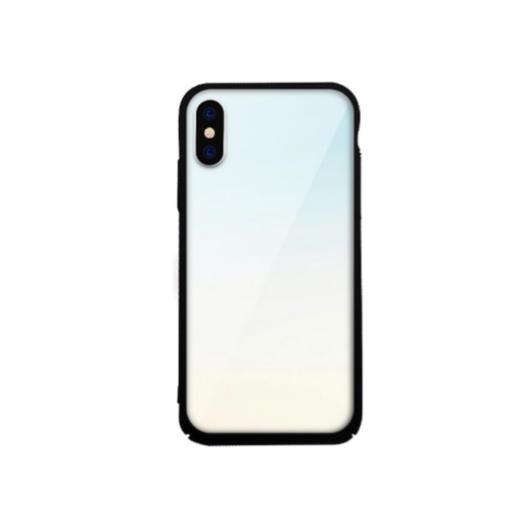 Tempered Glass tok fehér (Clear) Apple Iphone Xr készülékhez