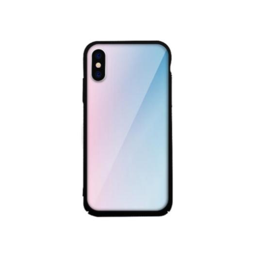 Tempered Glass tok kék (Fade) Apple Iphone Xr készülékhez