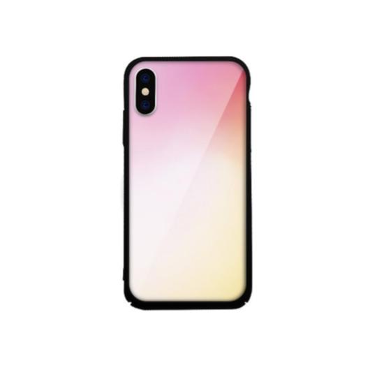 Tempered Glass tok lila (Fade) Apple Iphone X/Xs készülékhez