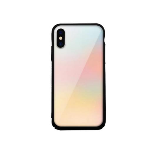 Tempered Glass tok színes (Fade) Apple Iphone X/Xs készülékhez