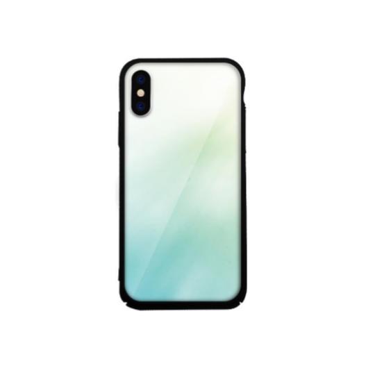 Tempered Glass tok zöld (Fade) Apple Iphone X/Xs készülékhez