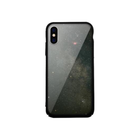 Tempered Glass tok fekete (Interstellar) Apple Iphone Xs Max készülékhez