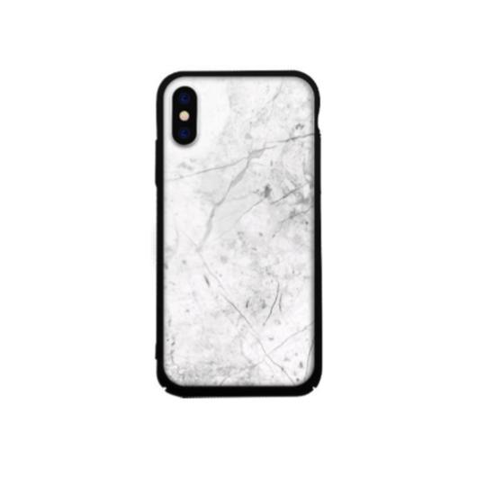 Tempered Glass tok fehér (Marble) Apple Iphone X/Xs készülékhez