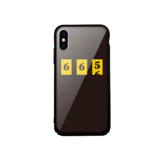 Tempered Glass tok fekete (Number) Apple Iphone X/Xs készülékhez