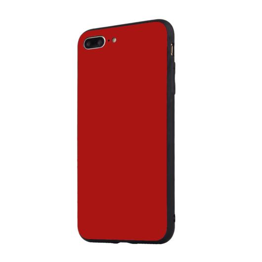 Tempered Glass tok piros Apple Iphone 5 / 5S / SE (2016) készülékhez