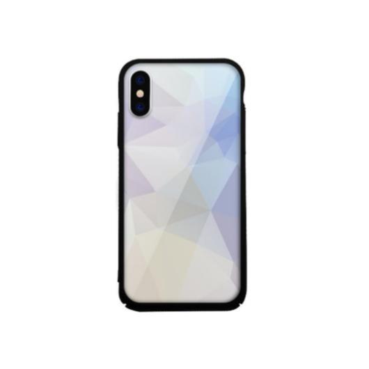 Tempered Glass tok lila (Prism)  Apple Iphone Xs Max készülékhez